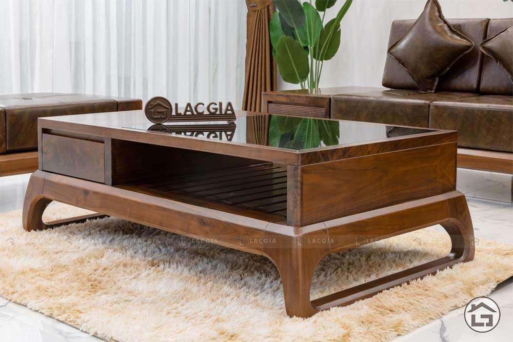 sofa go tu nhien chu l sf30 5 - Sofa gỗ tự nhiên chữ L SF30