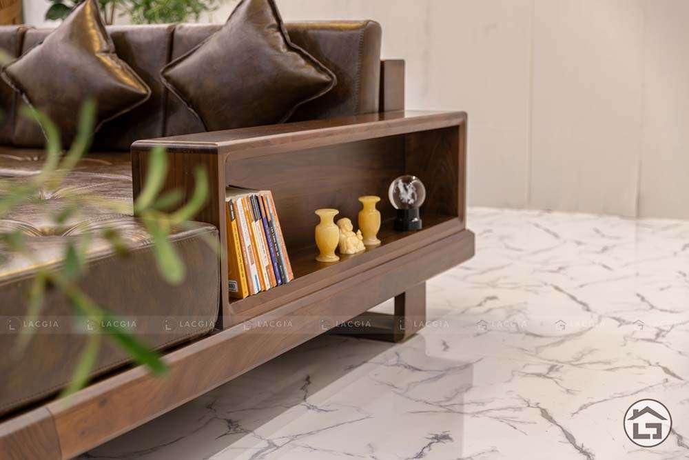 sofa go tu nhien chu l sf30 8 - Sofa gỗ tự nhiên chữ L SF30