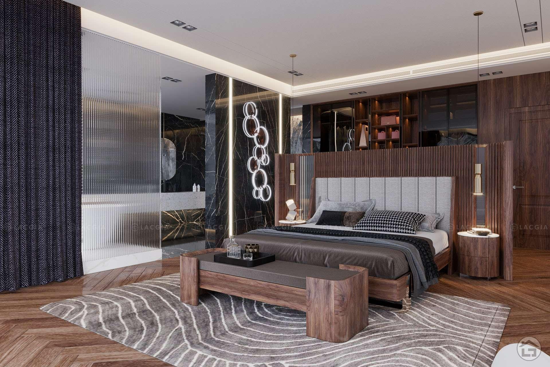 thiet ke noi that biet thu ecopark 10 - Thiết kế thi công nội thất trọn gói Vinhomes Marina Cầu Rào 2 Hải Phòng