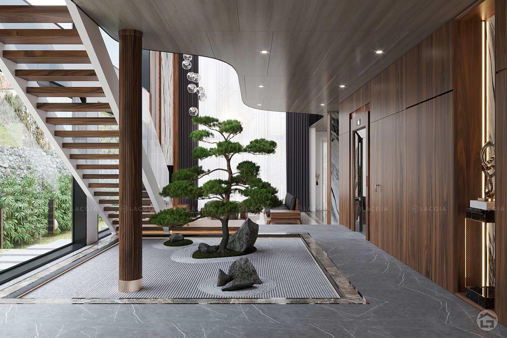 thiet ke noi that biet thu ecopark 200m2 3 - Thiết kế và thi công nội thất biệt thự, chung cư tại Móng Cái