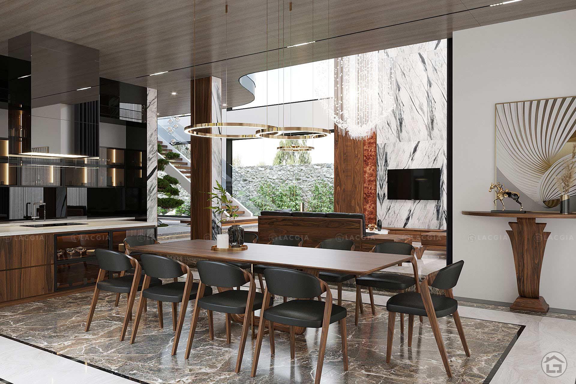 thiet ke noi that biet thu ecopark 200m2 5 - Thiết kế và thi công nội thất đẹp, sang trọng tại Yên Bái
