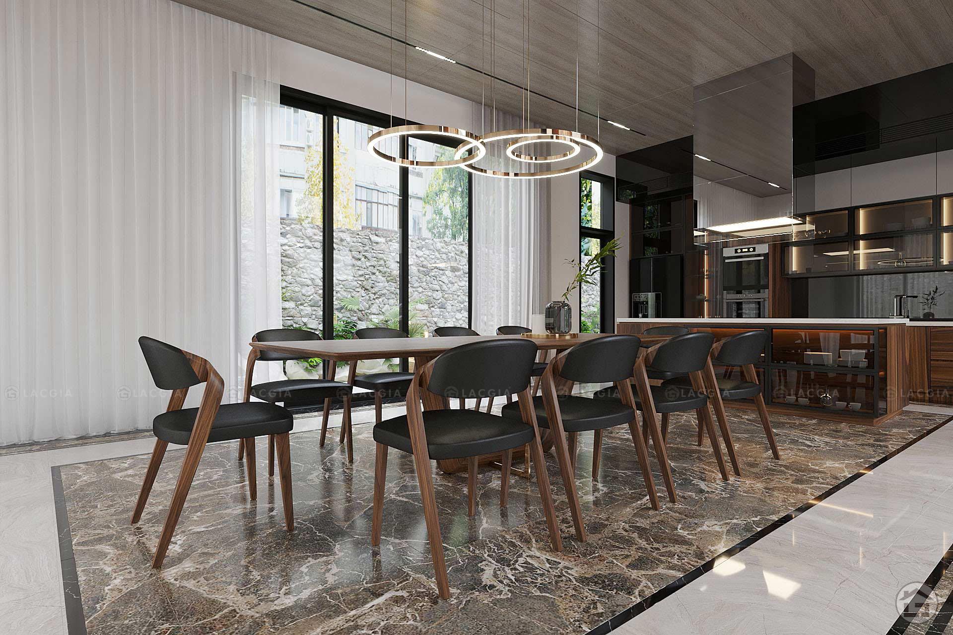 thiet ke noi that biet thu ecopark 200m2 6 - Thiết kế và thi công nội thất biệt thự, chung cư tại Móng Cái