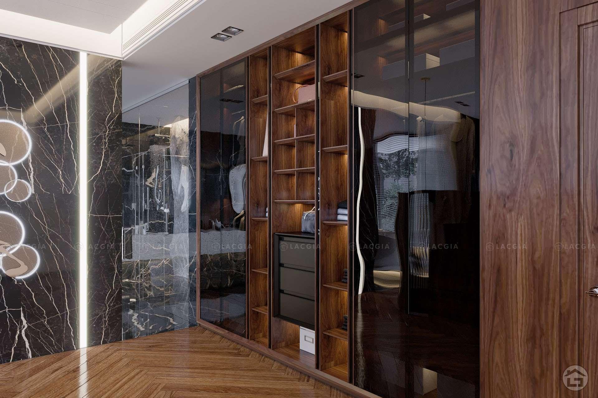 thiet ke noi that biet thu ecopark 7 - Thiết kế và thi công nội thất đẹp, sang trọng tại Yên Bái