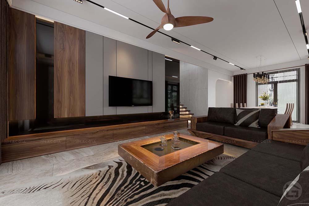 thiet ke noi that biet thu ocean park don lap 2 - Thiết kế và thi công nội thất biệt thự, chung cư tại Móng Cái