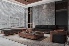 Sofa gỗ hiện đại Wooden Elite