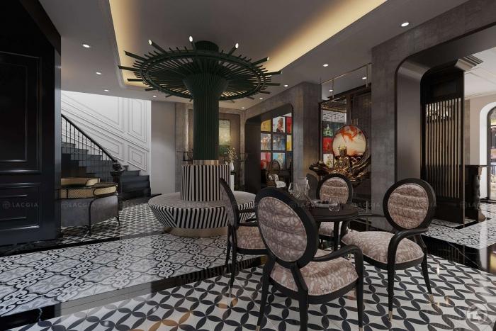 Thiết kế nội thất khách sạn 4 sao Sapa Center sang trọng