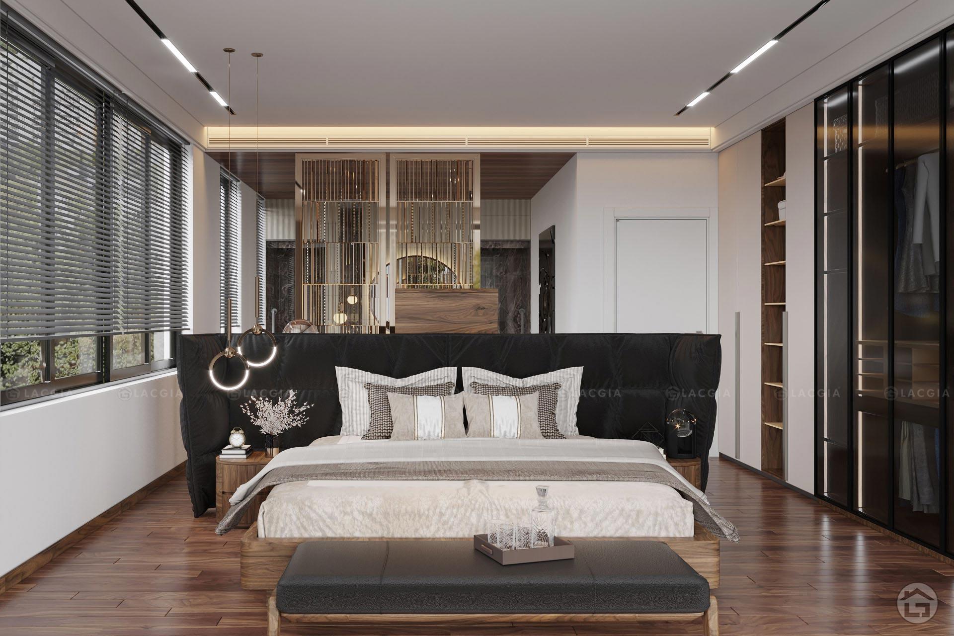 giuong ngu go tu nhien gn22 2 - Giường ngủ gỗ tự nhiên GN22