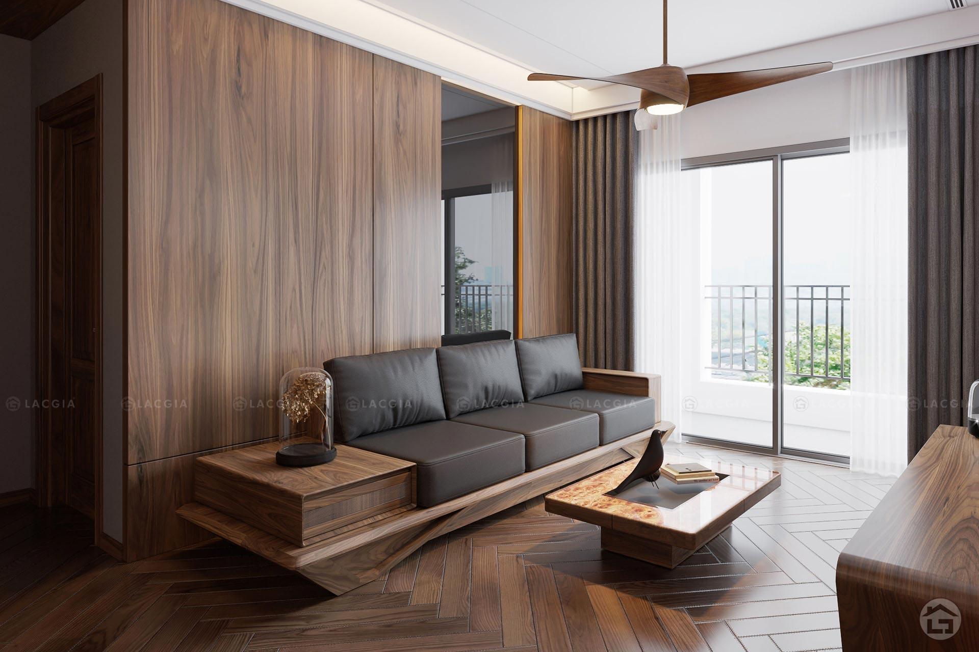 thiet ke noi that chung cu king place 124m2 3 - Thiết kế nội thất chung cư cao cấp King Palace