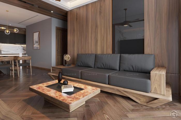 Thiết kế nội thất chung cư cao cấp King Place 124m2