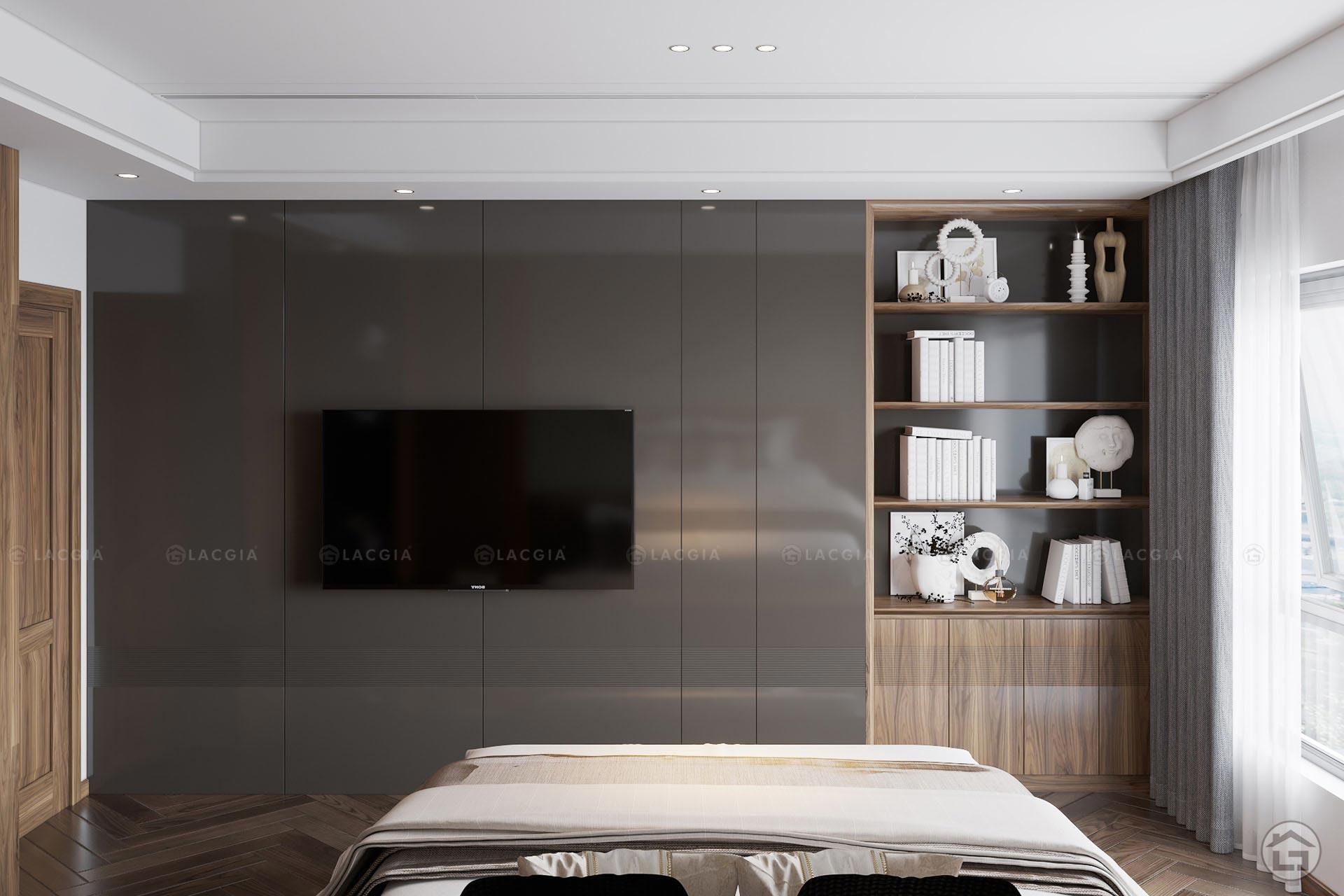 thiet ke noi that chung cu king place 124m2 9 - Thiết kế nội thất chung cư cao cấp King Palace