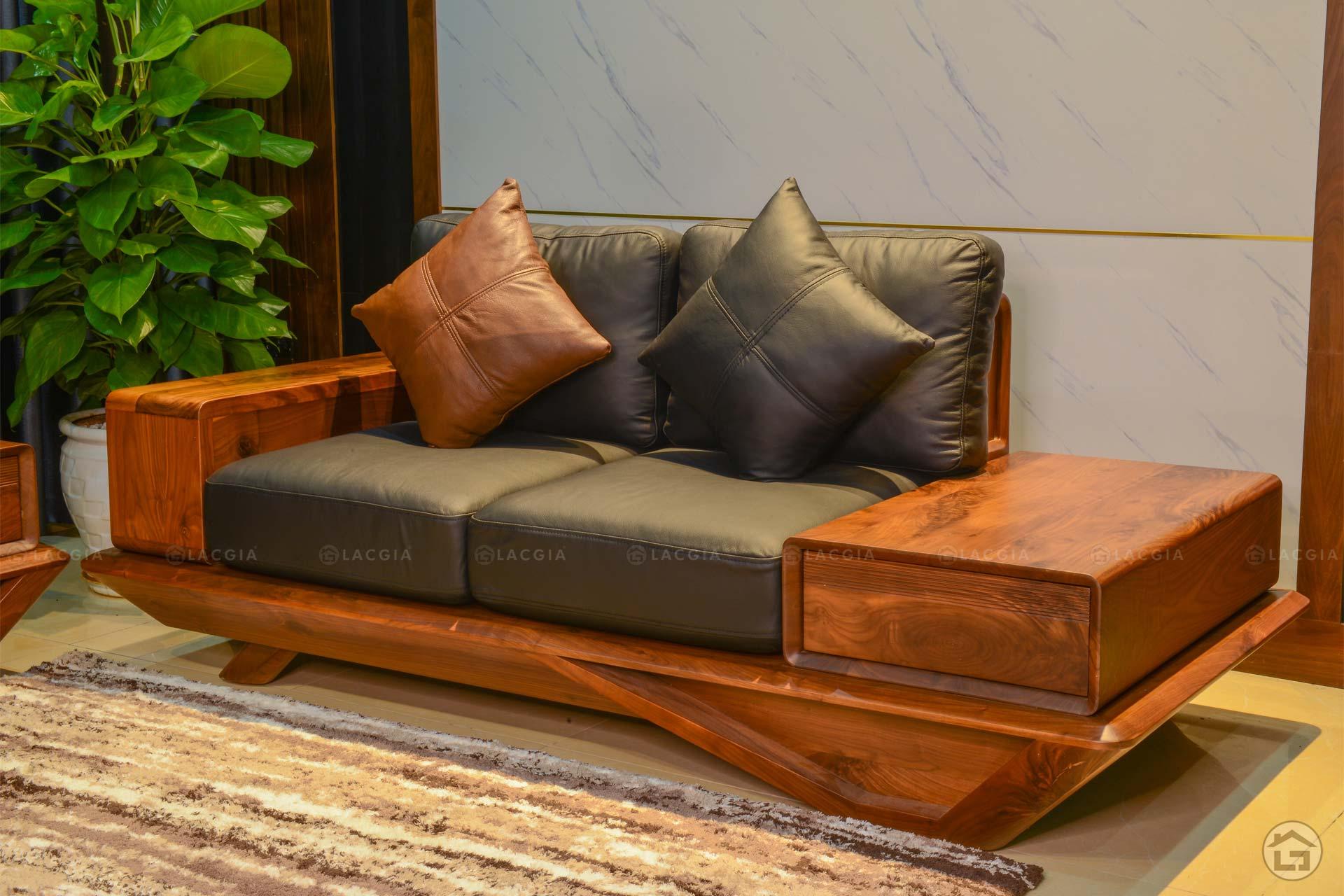 sofa go oc cho cao cap sf29 plus 1 - Sofa gỗ óc chó cao cấp SF29 Plus