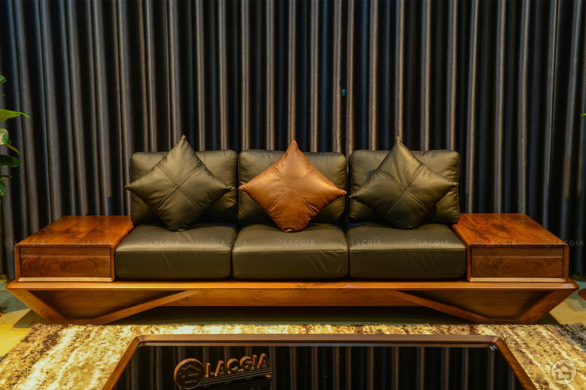 sofa go oc cho cao cap sf29 plus 3 - Sofa gỗ óc chó cao cấp SF29 Plus