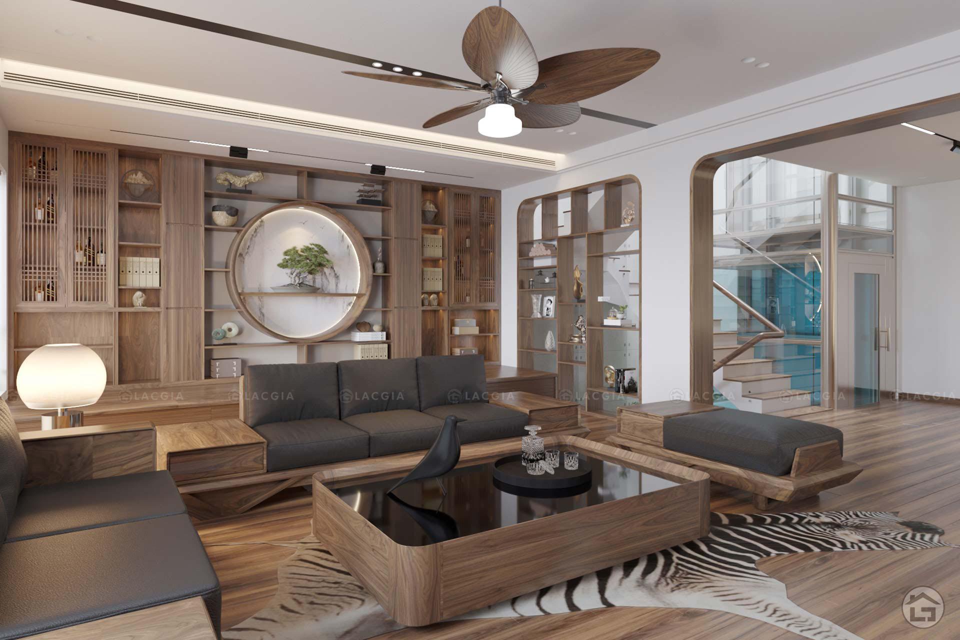thiet ke noi that biet thu lien ke geleximco le trong tan 34 - Dự án thiết kế nội thất biệt thự Vinhomes Riverside