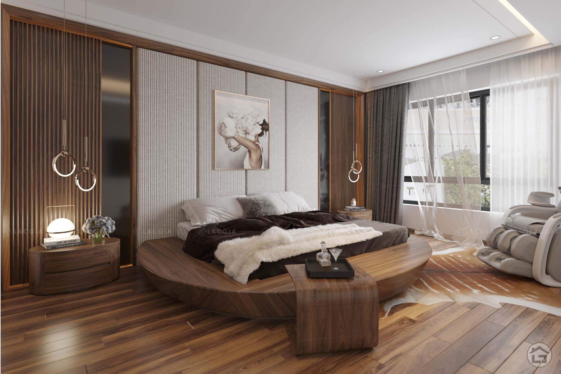 thiet ke noi that biet thu lien ke geleximco le trong tan 5 - Dự án thiết kế nội thất biệt thự Vinhomes Riverside