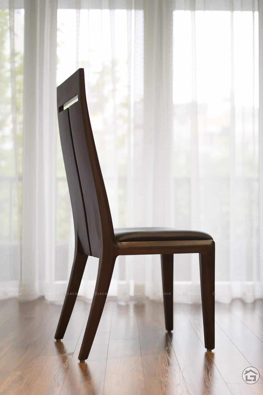 ban ghe an go oc cho ba19 5 - Bàn ghế ăn gỗ óc chó BA19