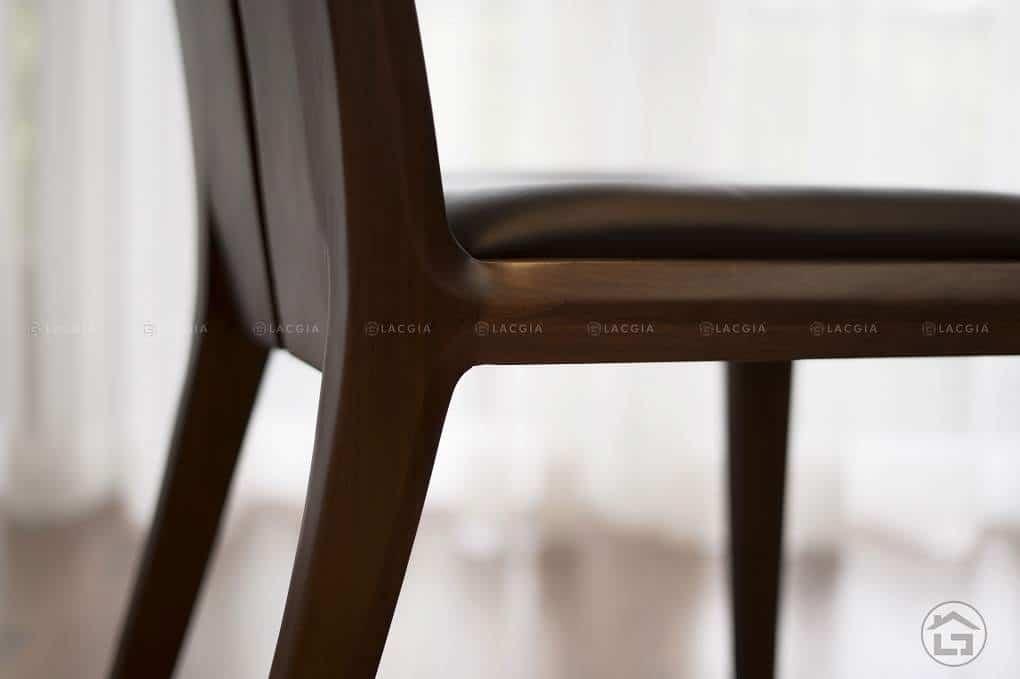 ban ghe an go oc cho ba19 6 - Bàn ghế ăn gỗ óc chó BA19