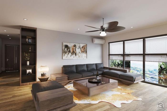 Thiết kế nội thất chung cư Iris Garden Mỹ Đình