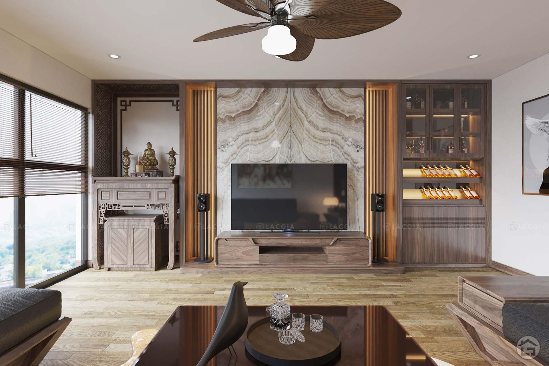 thiet ke noi that chung cu iris garden 3 - Thiết kế nội thất chung cư Iris Garden - Mỹ Đình