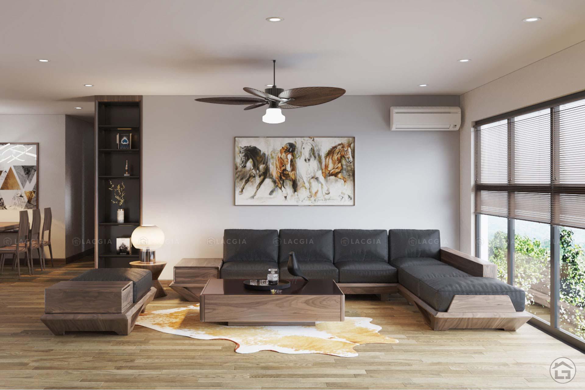 thiet ke noi that chung cu iris garden 4 - Thiết kế nội thất chung cư Iris Garden - Mỹ Đình