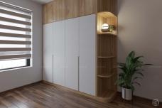 Tủ quần áo gỗ cao cấp TA16