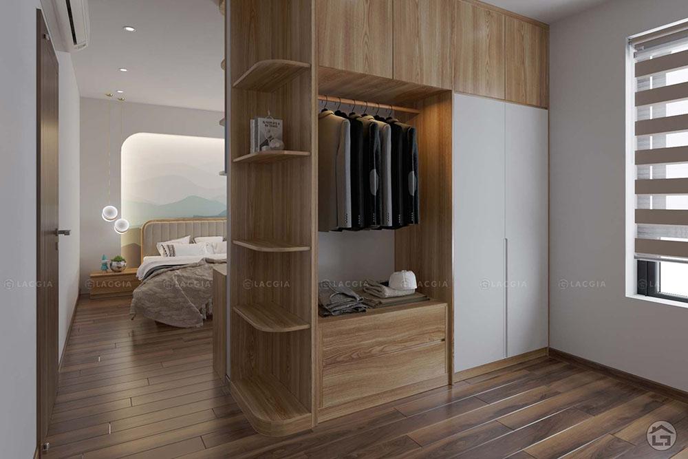 tu quan ao go cao cap ta16 3 - Tủ quần áo gỗ cao cấp TA16