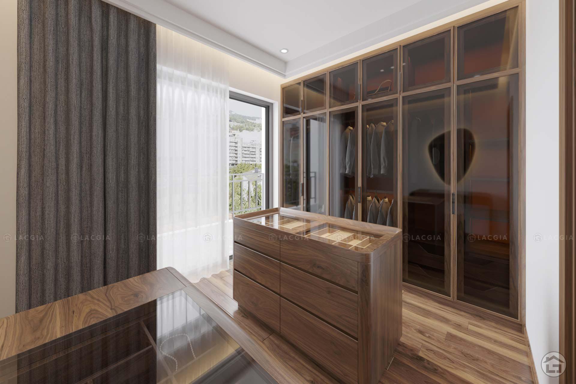 Tủ quần áo gỗ tự nhiên TA15