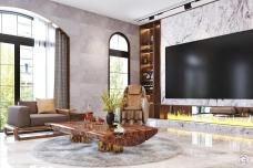 Sofa gỗ Hera cao cấp sang trọng