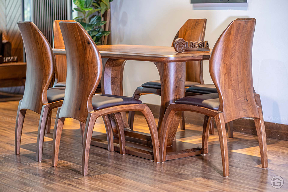 ban ghe an go hien dai ba21 2 - Bàn ghế ăn gỗ hiện đại BA21