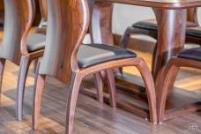 Bàn ghế ăn gỗ hiện đại BA21