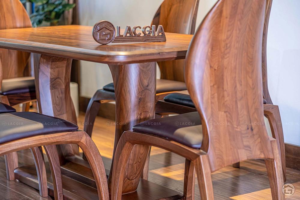ban ghe an go hien dai ba21 4 - Bàn ghế ăn gỗ hiện đại BA21