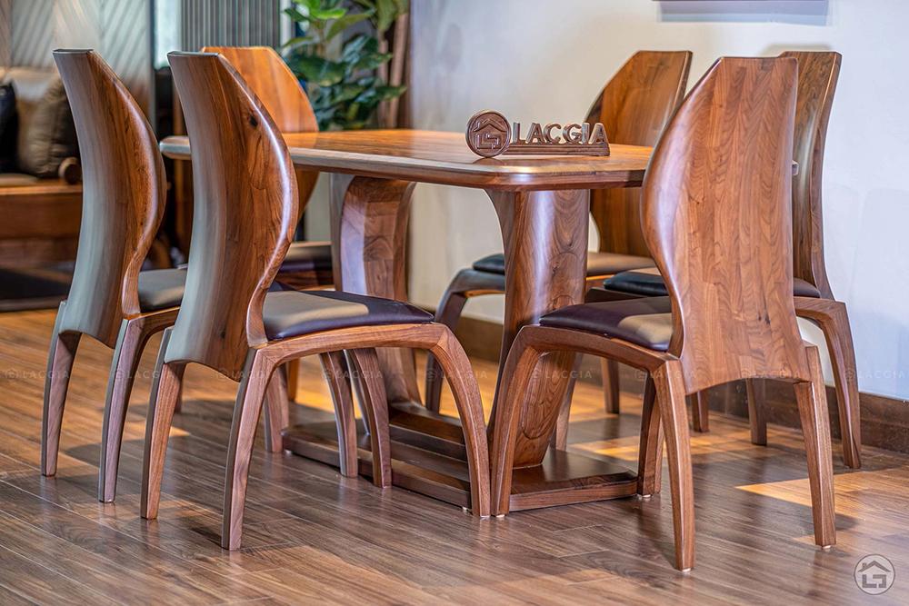 ban ghe an go hien dai ba21 5 - Bàn ghế ăn gỗ hiện đại BA21