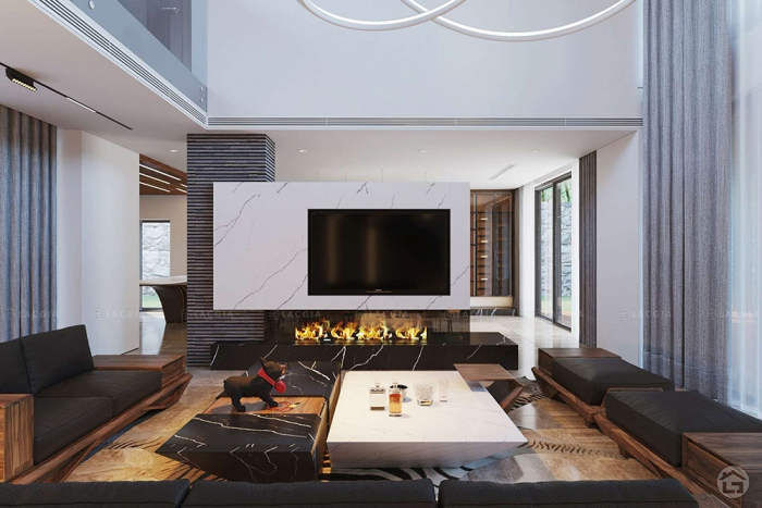 Thiết kế nội thất biệt thự, Resort nghỉ dưỡng Mê Linh